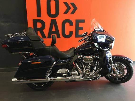 Harley Davidson - Electra Glide Ultra Cvo - Azul