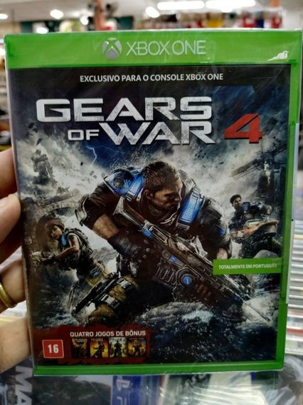 Gears Of War 4 Xbox One Mídia Física 100% Português