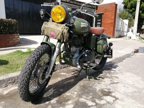 Royal Enfield 500 Battle Green