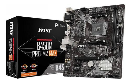 Motherboard Amd Msi B450m Pro M2 Max Am4 Ddr4 B450 Xellers 1