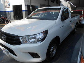 Toyota Hilux 2016 2p Cabina Sencilla L4/2.7 Man