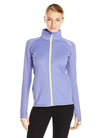2xu Mujeres G: 2 Micro Thermal Jacket, Purple Eclipse Ice