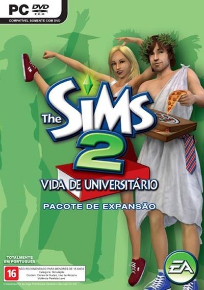 The Sims 2 Original - Vida Universitária -pacote De Expansão