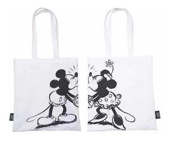 Bolsa Mickey E Minnie Kissing Disney 100% Original