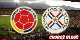 Boleta (2) Partido Colombia Vs Paraguay 650 Oriental