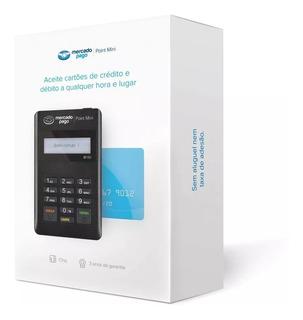Maquininha De Cartão Point Mini Moderninha Crédito Débito