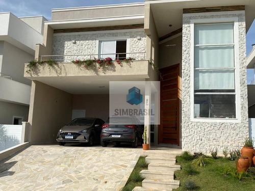 Imagem 1 de 30 de Casa Com 3 Suítes À Venda, 274 M² Por R$ 1.600.000 - Swiss Park - Campinas/sp - Ca1465