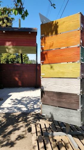 Revestimiento Siding Fibrocemento Natural Y Colores Mercado Libre