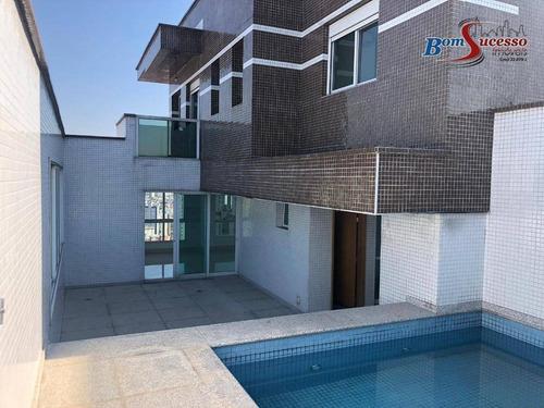 Imagem 1 de 30 de Cobertura Com 4 Dormitórios À Venda, 390 M² Por R$ 4.300.000,00 - Jardim Anália Franco - São Paulo/sp - Co0081