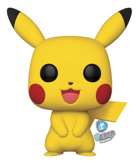 Funko Pop Pikachu De 10 Pulgadas Pokemon Figura Exclusivo