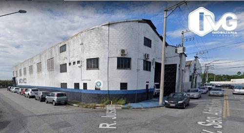 Galpão Para Alugar, 1000 M² Por R$ 16.500,00/mês - Vila Endres - Guarulhos/sp - Ga0314