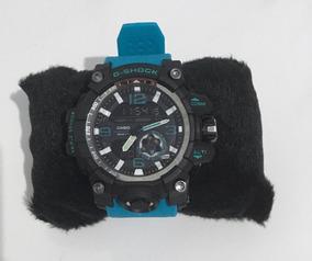 Relógio Esportivo G-shock Reforçado Azul Promoção Envio Já