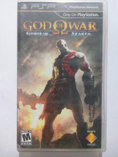 God Of War Ghost Of Sparta Psp Playstation Portable Gow