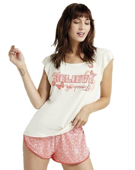Pijama So Pink So Positive Art 11489