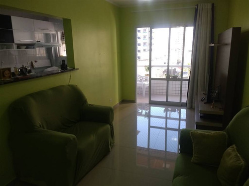 Imagem 1 de 19 de Apartamento, 1 Dorms Com 65 M² - Cidade Ocian - Praia Grande - Ref.: Pr1471 - Pr1471