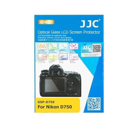 Protetor De Vidro Lcd Câmera Jjc Gspd750 Nikon D750
