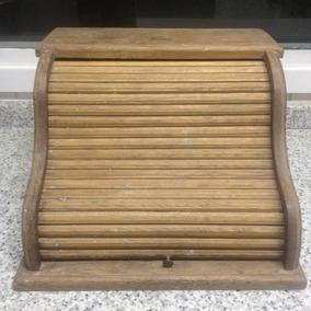 Escrivaninha De Viagem Caixa Antiga Xerife Rustica