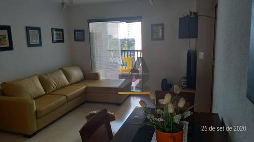 Imagem 1 de 30 de Excelente Apartamento Com Localização Privilegiada Na Região De Moema, O Apartamento Com 93 M², Com 3 Dormitórios - Ap7220