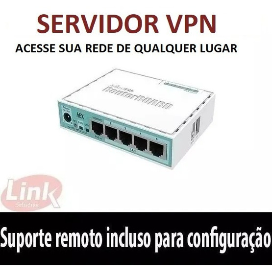 Roteador Mikrotik Rb Servidor Vpn Home Office Casa L2tp Ovpn
