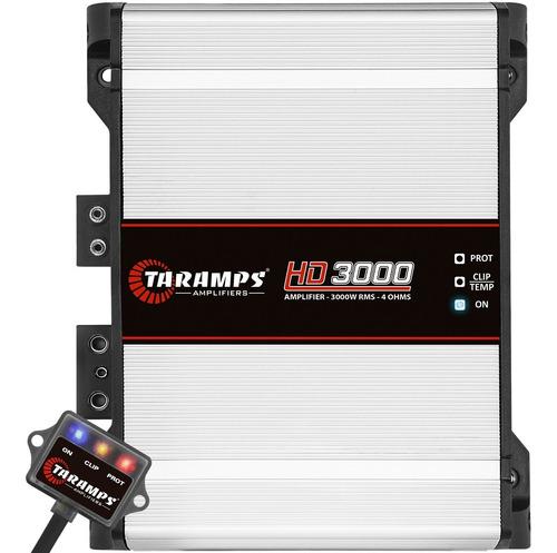 Modulo Amplificador Taramps Hd3000 4 Ohms 3000w Rms Som Car
