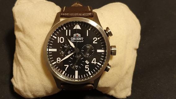 Relógio Orient Pilot 43mm Lindo Estado De Novo Mbssc119