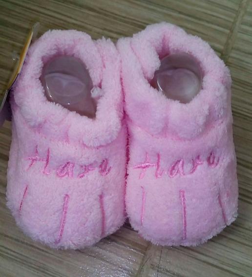 Pantuflas Zapatos Suaves Invierno Frio Niña Botas 0 A 3 Mese