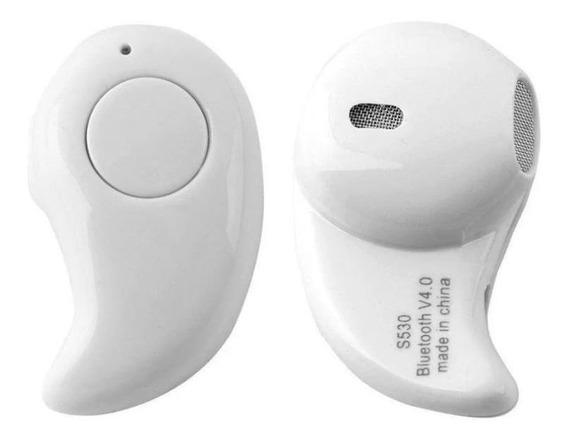1 Mini Fone De Ouvido S530 V4.1 Sem Fio Bluetooth Universal Br