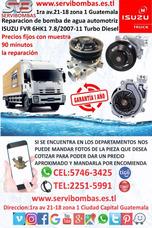 Bomba De Agua Automotriz Isuzu Fvr 6hk1 7.8 Guatemala