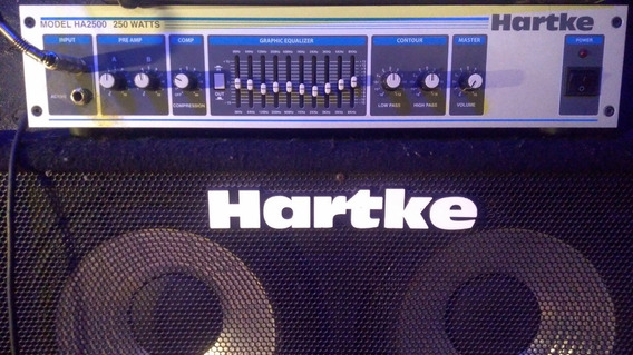 Cabeçote Hartke Ha2500 250w P Baixo Sem Caixa