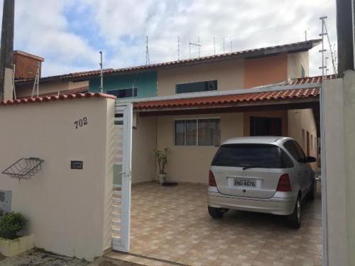 Casa A 500 Metros Do Mar Em Itanhaém - 7243