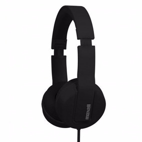 63l Headphone Maxell (solid Black)