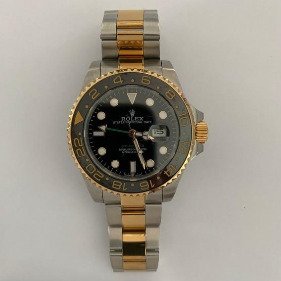 Reloj Rolex Gmt Master Ii Bi Tono Automatico 209r