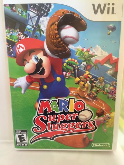 Jogo Para Wii Mario Super Sluggers Nintendo