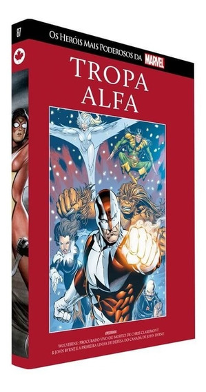 Tropa Alfa Marvel Salvat 87 X-men Alpha Flight (1983)