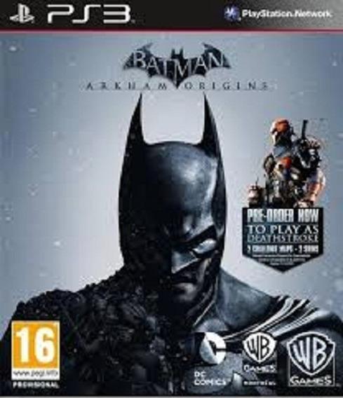 Batman: Arkham Origins- Ps3- Psn - Original Em Midia Digital
