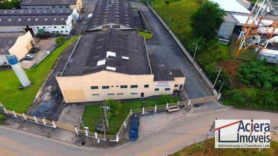 Galpão Para Alugar, 1300 M² - Taboão - Mogi Das Cruzes/sp - Ga0562