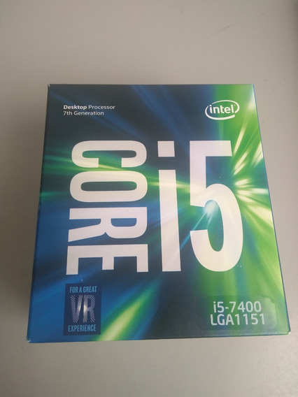 Caixa Vazia Só Embalagem Processador Intel Core I5 7400 1151