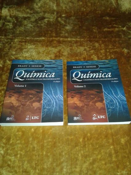 Química A Matéria E Suas Transformações Vol 1 E 2 Brady