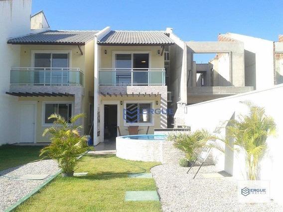 Casa Com 3 Dormitórios À Venda, 91 M² Por R$ 209.000,00 - Messejana - Fortaleza/ce - Ca0011