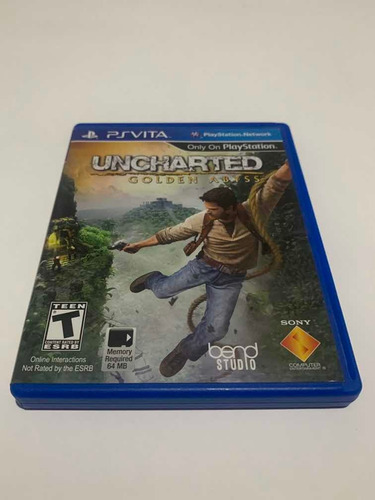 Uncharted Golden Abyss  Ps Vita Jogo Original Playstation