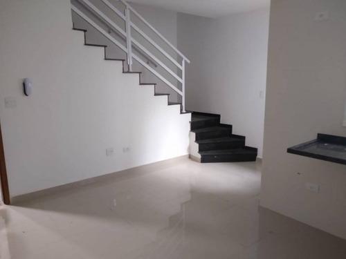 Cobertura Com 3 Dormitórios À Venda, 146 M² - Vila Humaitá - Santo André/sp - Co2784