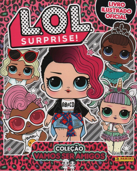 Álbum Figurinhas Lol Surprise 2019 - Completo - Para Colar