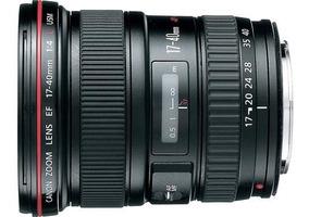 Lente Canon Ef Lens 17-40mm 1:4 L. Usm (seminova)