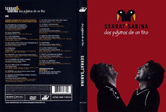 Serrat & Sabina - Dos Pajaros De Un Tiro Dvd - S