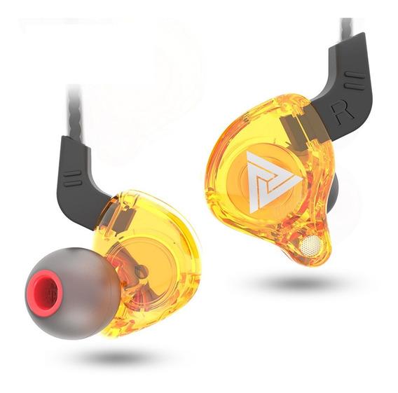 Fone In Ear Qkz Ak6 - Monitor De Palco Profissional Kz