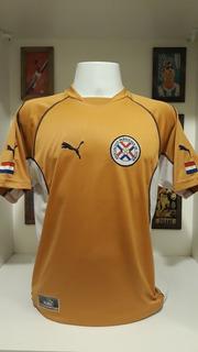 Camisa Futebol Selecao Paraguai Puma Laranja
