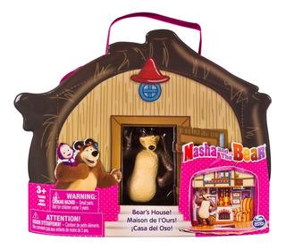 Masha Y El Oso Maleta Casa Del Oso Spin Master Toys - 603439