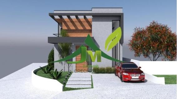 Casa À Venda Em Atibaia No Condominío Terras De Atibaia I - 1134