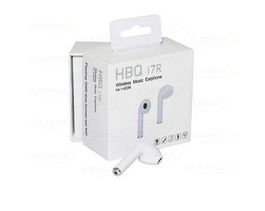 Fone De Ouvido Sem Fio Bluetooth Hbq I7r Wireless