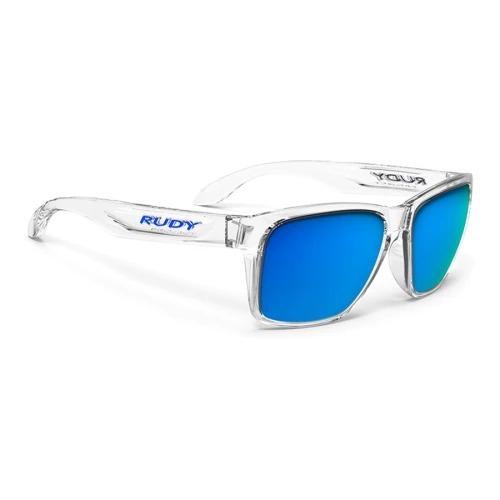 Óculos Rudy Project Spinhawk Crystal Lentes Multilaser Blue